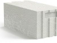 Блок газобетонный с системой паз-гребень производства